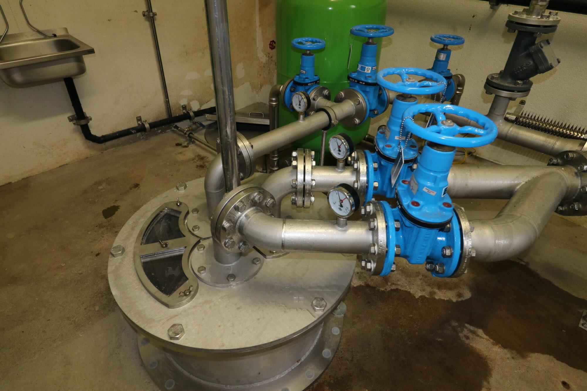 Trinkwasserpumpwerk Brunnenkopf